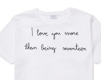 The Stokes T Shirt, hand embroidered, I love you more than being seventeen, julian casablancas, albert hammond jr., Nikolai Fraiture