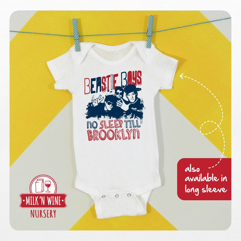 6e5d76205 Beastie Boys No sleep till Brooklyn Baby Onesie® bodysuit