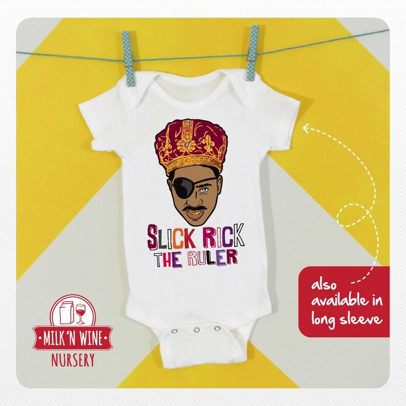 bodysuit Baby Hip Hop Slick Rick The Ruler Onesie\u00ae Rap romper under shirt