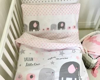 Baby Pillow Case, Girl Baby Bedding