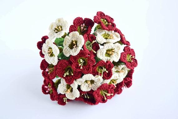 Pattern Crochet Wedding Hand Bouquet Digital Download Pattern Etsy