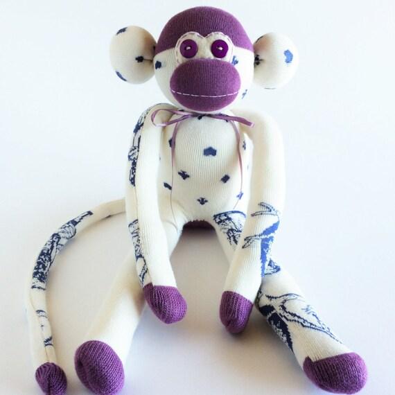 Pug Lover Pug Sock Monkey Pug Sock Monkey Pugs Blue Sock Monkey Dog Lover Pugs Sock Monkey Sock Monkey