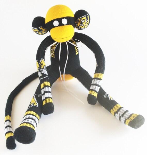Pittsburgh Penguins Sock Monkey Nhl National Hockey Etsy