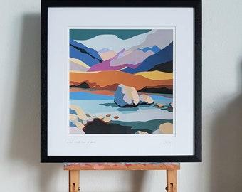 Fairy Pools Isle of Skye framed print
