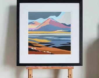 Breakish Isle of Skye framed print