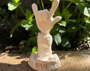 Sculpture: I Love You