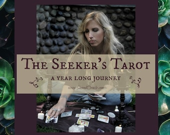 The Seeker's Tarot - A Year Long Journey - Tarot Reading