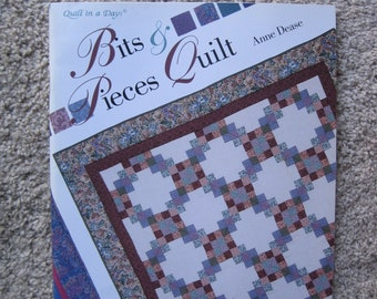 Quilt in a Day - Bits & Pieces Quilt - Anne Dease - Vintage 1994
