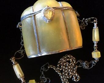 Molded Resin Bag, Cross-body Bag,