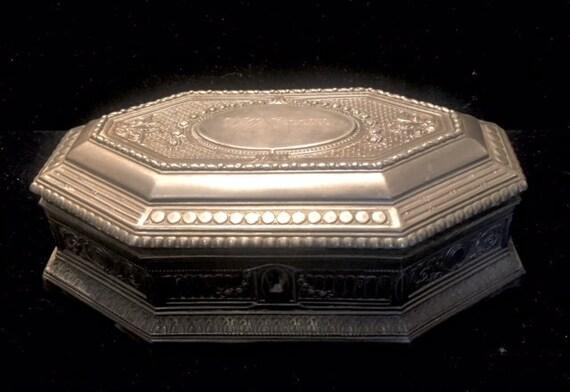 Jewelry Box, Antique Jewelry Box, Jewelry Casket B