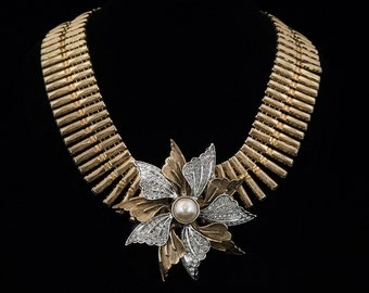 One-of-a-Kind Handmade Reinvented Vintage Necklace