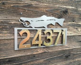 Steelhead Address Sign