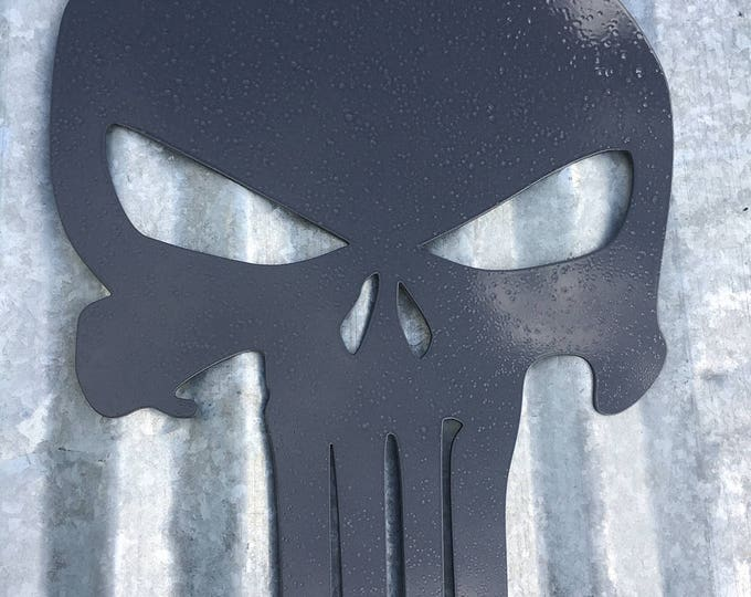 "18"" Punisher skull"