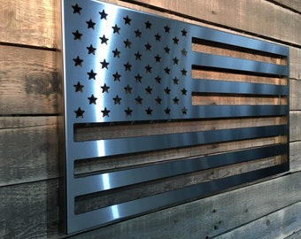 American Flag Stainless Steel