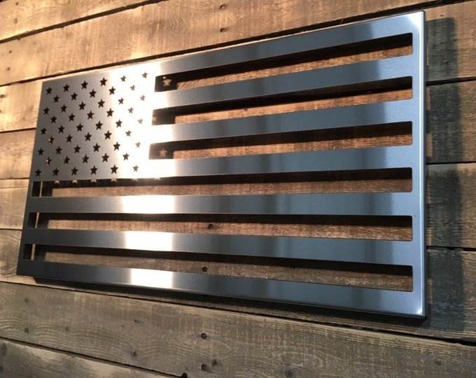 Featured listing image: American Flag Stainless Steel