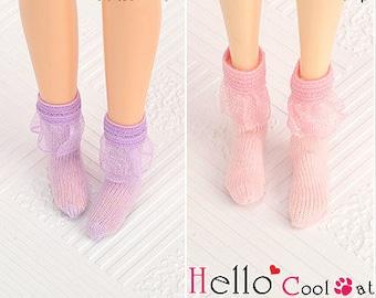 Blythe Pullip Doll Lace Top Ankle Socks