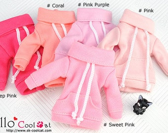 Blythe Pullip Pocket Top (Pink Series)