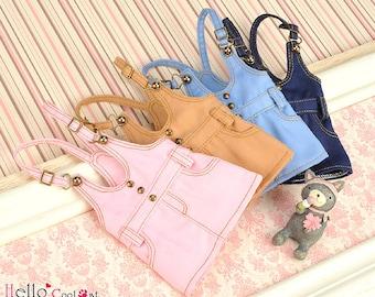 Blythe Pullip Doll Jumper Skirt/ Overall Skirt/ Suspender Skirt