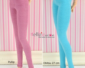 Pullip/Obitsu 27cm Long Leggings/ Pants