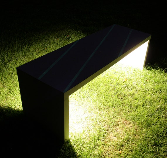 Phenomenal Led Lighted Concrete Bench Illuminated Garden Bench With Led Lights Glow In The Dark Bench Bench Seating Betong Benk Gartenbank Andrewgaddart Wooden Chair Designs For Living Room Andrewgaddartcom