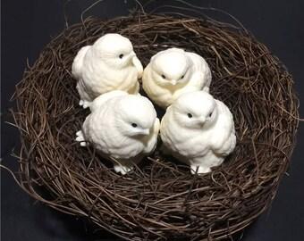 Chick crafts creative home accessories/Ivory nut /chick / moduler/zodiac /bird