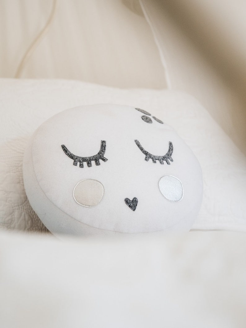 Piccolo Moonface Cushion Pattern 2 styles included PDF