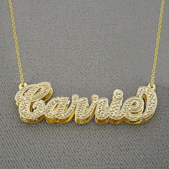 10K Gold Double Butterfly Cutout Disc Necklace by JEWLR