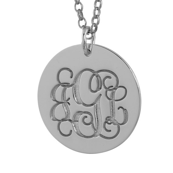 Sterling Silver Solid Engravable Laser Etched Happy Birthday Disc Charm