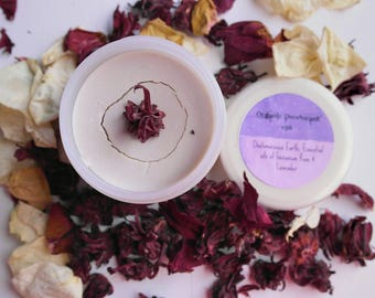 Organic Natural Deodorant with Peppermint & Lavender 200ml Jar, Made in the UK