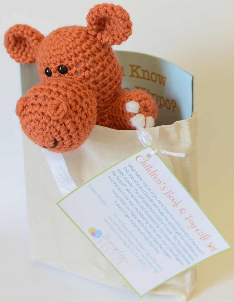 Children's Book Gift Set  Story Time Book  Baby Shower image 0
