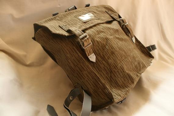 Vintage Military Bag, Crossbody Bag, Canvas Bag, V