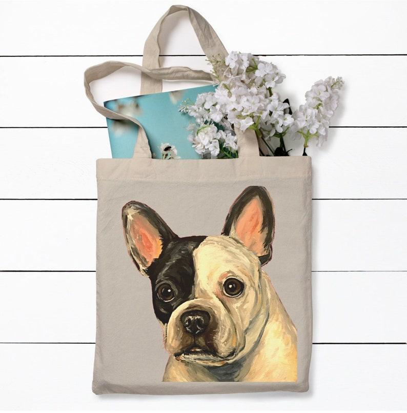 French Bulldog Tote Bag French Bulldog Lover Gift Fun Dog Etsy