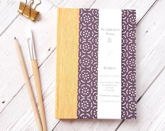 Fabriano Watercolour Sketchbook or Journal, Fabriano Rosaspina Paper at 225gsm, Hot Pressed 20 pages, Approx A5