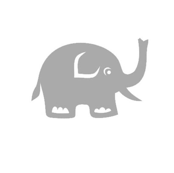 Elefant Tier Aufkleber Auto Aufkleber Yeti Aufkleber Etsy