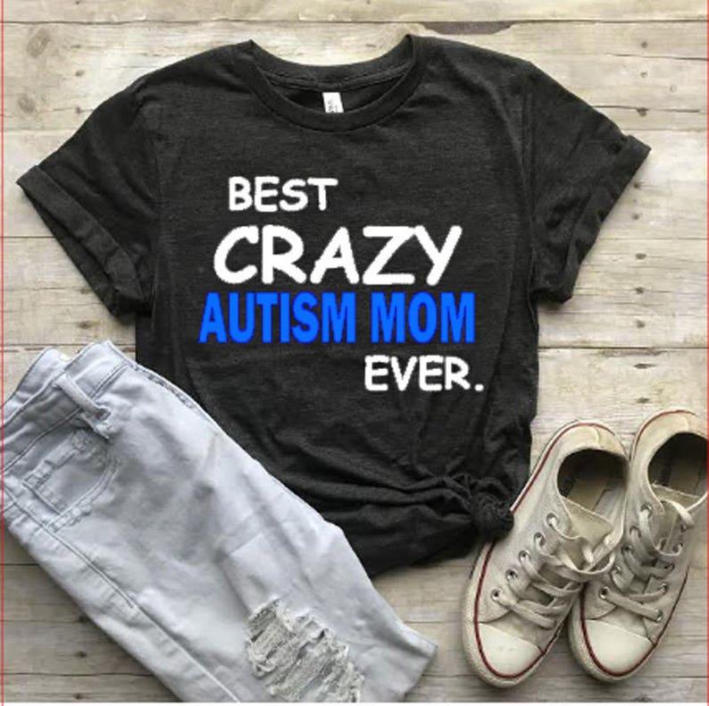 2d731bd77c1 Autism Mom Shirt Autism Awareness Shirt Motherhood Shirt