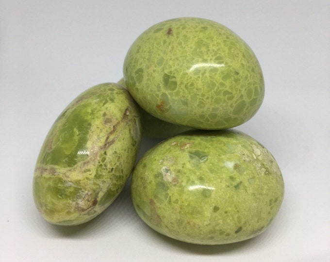 Pistachio Opal Palm Stone