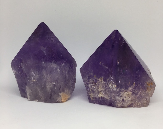 "Amethyst Polished Point 3""- 4"""