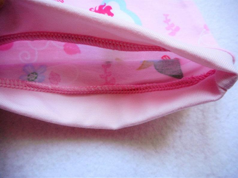 b75b03eceb94e Bonnet Bébé Fées Rose Clair 3-6 mois Bonnet Fille Jerseys
