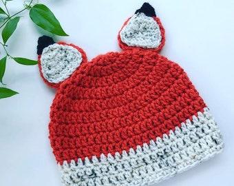 341767ae114 Toddler fox hat