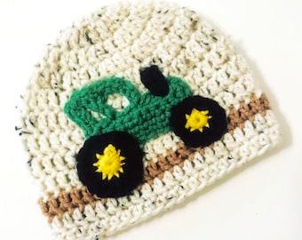 Tractor Hat ( crochet d53b6da21f91