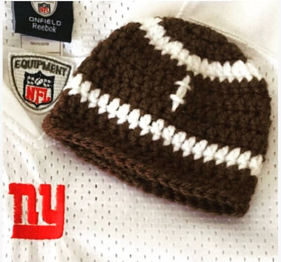 Football Hat newborn baby toddler child adult beanie  1d20ebc7f