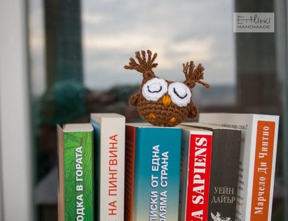Brown Owl Bookmark For Men, Boys Kids Gift Ideas