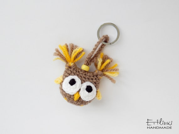 Owl Keychain, Small Gifts Under 20