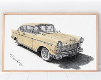 CUSTOM Car Portraits