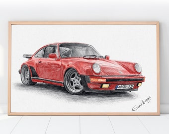 CUSTOM Car Portraits