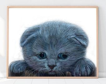 Custom Pet Portrait, Digital pet portrait, Dog Portrait Custom, Custom cat portrait, Gifts for mom, Dog memorial, Cat portrait custom