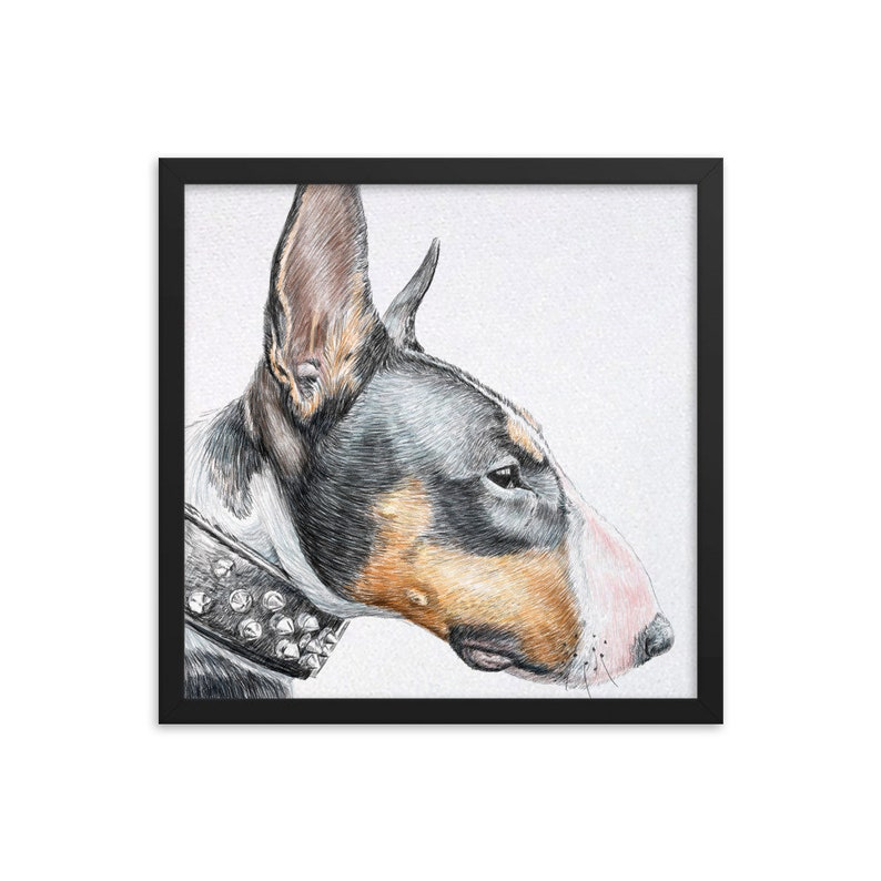 12x9 16x12 Toy Manchester Terrier Art Starry night Van Gogh CANVAS Print English Toy Terrier Gifts choose size 8x6 24x18 20x15
