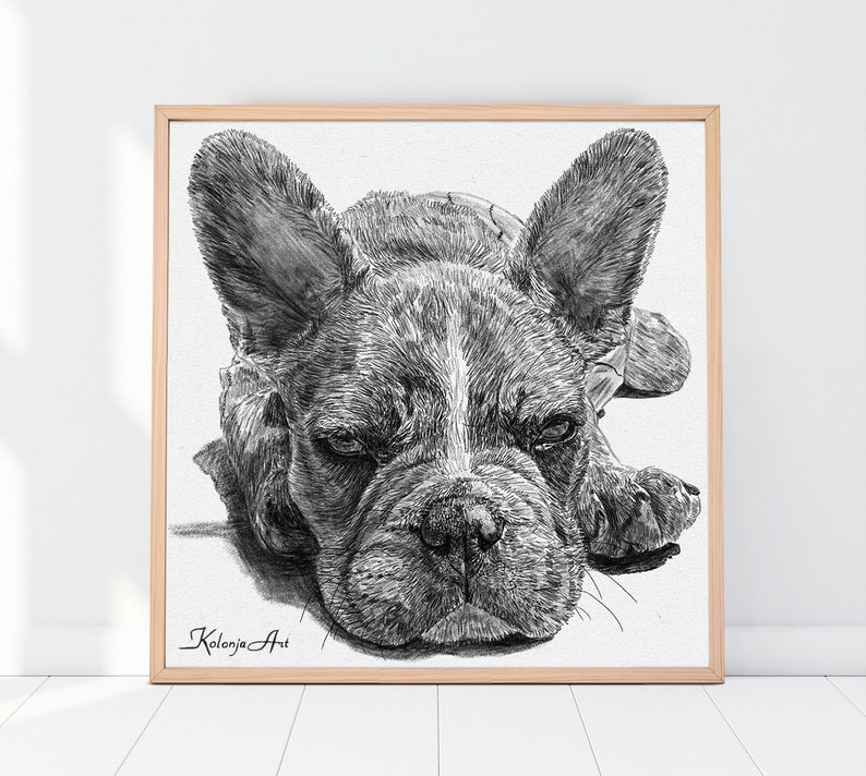 Personalized gift Gifts for mom Pet Portrait Custom Wall image 0