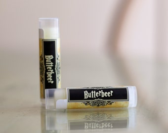 All Natural Butterbeer Harry Potter Lip Balm