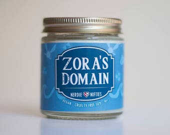 Zora's Domain-- Soy Candle (4 oz.)